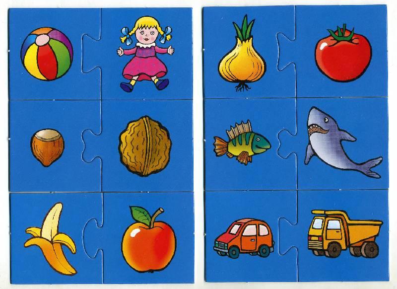 логические игры четыре картинок