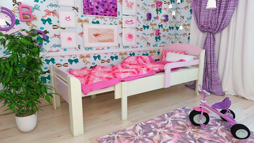как выбрать кровать для ребенка 3-7 лет