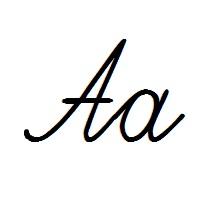 черный сплошной рукописный шрифт