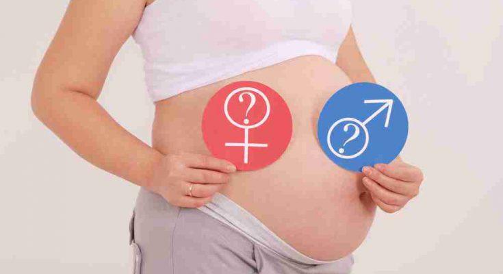 Тест на определение пола ребенка